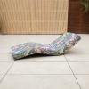 Tumbona Articulada Arrecife Exterior 200x80x15 Cm Psico Floral