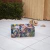 Tumbona Convertible Curvo Nassau Exterior 180x60x32 Cm Psico Floral