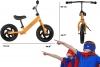 Bicicleta Equilibrio Sin Pedales Infantil De 3-5años Color Naranja
