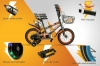 Bicicleta Infantil Para Niñas-niños 9 A 11 Años 20 Pulgadas Color Gris