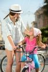 Bicicleta Infantil Para Niñas-niños 3 A 4 Años 12 Pulgadas Color Rojo