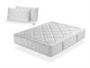 Colchon Atria 180x190 + 2 Almohada Viscoelastica 90x35- Altura 29 Cm - Firmeza Media - Espuma Super Soft - Dormissimo