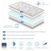 Colchón Bebe Cuna 57x117 Bleu Baby Altura 11 Cm -núcleo Perforado Y Antibacteriano - Dormissimo