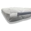 Colchón Bebe Cuna 57x117 Baby Air Altura 11 Cm - Desenfundable , Lavable , Adaptable Y Transpirable -dormissimo