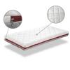 Colchón Bebe Cuna 60x120 Duo Visco Altura 11 Cm - Desenfundable , Lavable, Espuma De Viscoelástica Y Transpirable-dormissimo