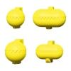 Utensilios Multiusos Y 4 Moldes Intercambiables La Croquetera Amarillo