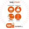 Luz De Emergencia V16 Homologada Normativa Dgt Help Flash Con Martillo