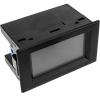 Bematik - Visor Lcd De 3 Dígitos Dual Con Voltímetro 80-300vac Y Amperímetro 100-200a Retroiluminado Ao09200