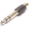 Bematik - Adaptador Audio Estéreo Trs Jack-6.3mm-macho A 1xrca-hembra Aw00600