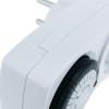 Bematik - Programador Eléctrico Mecánico Diario Tipo Enchufe Mini Do08000