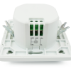 Bematik - Detector De Movimientos Empotrado Pared 80x80mm Con Control De Tiempo Luz Y Distancia Do09500