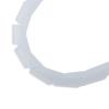 Bematik - Organizador De Cables. Funda Blanca En Espiral De 8-60 Mm Longitud 10 M Eb00900