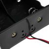 Bematik - Portapilas Plano Para 2 Pilas D Lr20 R20 De 1.5v Et02600