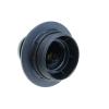 Bematik - Portalámparas Negro Con Rosca Exterior Para 1 Bombilla E27 Nv09800