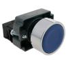 Bematik - Pulsador Momentáneo 22mm 1no 400v 10a Normal Abierto Azul Tx01400