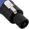 Bematik - Cable Speakon Altavoces Nl2 A Jack 6.3mm 2x1.5mm 15ga 2m Xp02100