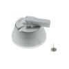 Primematik - Etiqueta Antihurto Compatible Eas Rf 8.2mhz 51x19mm Blanca Antirrobo Con Pin 25 Unidades Xx03600