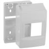 Bematik - Caja De Superficie De Automatismos Eléctricos Para 4 Módulos De 18 Mm De Plástico Abs Mf02200