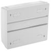 Bematik - Caja De Superficie De Automatismos Eléctricos Para 8 Módulos De 18 Mm De Plástico Abs Mf02400