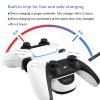 Cargador Doble Rapido Para Playstation5 Ps5 Negro