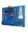 Kit Panelclick 900x400 Azul + 8 Hook