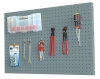 Kit Panelclick 1200x400 Gris + 8 Hook