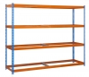 Estanteria Media Carga Ecoforte 1504-4 Azul/naranja 2000x1500x450 Mm