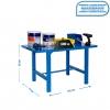 Banco De Trabajo Simonwork Bt6 Metalic 1200 Azul