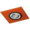 Empotrable De Techo Class, Color: Naranja