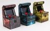 Mini Recreativa Arcade Con 250 Juegos - Amarillo