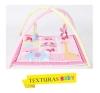 Texturas Baby - Gimnasio De Actividades Para Bebé 70x70 Cm Rosa