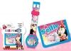 Set Regalo Reloj Digital Y Billetera De Minnie Mouse
