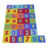 Homcom® Alfombra Puzzle Para Niños 36pcs 3.34㎡ Números 0-9 Y 26 Letras