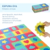 Homcom® Alfombra Puzzle Niños Colchoneta Suave 3.24㎡ Espuma Eva