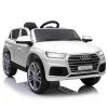 Homcom® Coche Eléctrico Audi Q5 Blanco Para Niños Mayores De 3 Años