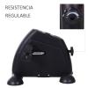 Homcom Minibicicleta Estática Pedalier Aparato De Ejercicios Brazos Y Piernas Resistencia Ajustable Pantalla Lcd 39x40x31cm