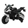 Homcom Moto Bmw Correpasillos Niños Mayores De 3 Años Moto Eléctrica Infantil Batería 12v Doble Motor Con Luces Y Sonidos Ruedas Seguras 110x47x69cm Pp