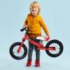 Homcom Bicicleta Sin Pedales De Altura De Asiento Regulable 31-45cm Mayores 2 Años Rojo