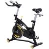 Bicicleta Estática Spinning Homcom Acero Abs 47x120x104,5-117cm,negro