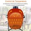Outsunny Barbacoa Para Camping De Carbón Termómetro Y Tapa 40.5x35x55 Cm