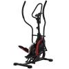 Bicicleta Elíptica Pantalla Lcd Homcom Acero, Abs 103x71x157cm, Negro