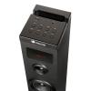 Ngs Skycharm - Altavoz Torre De Sonido Con Bluetooth Y Mando A Distancia ( 50w, Usb, Radio Fm, Aux). Color Negro