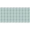 Flooralia - Alfombra Vinilica Geometrica, 250x64cm, Azul-blanco