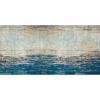 Flooralia - Alfombra Vinilica Vintage, 230x160cm, Azul-gris