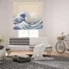 Homeflex - Estor Digital Salon Indico, Enrollable,  100x250 Cm