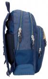 Mochila Movom Babylon Azul Doble Compartimento 44cm