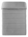 Colcha Boutic Claudia Gris/gris Oscuro Cama 90/105