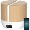 Difusor De Aroma Purearoma 550 Connected White Woody, Capacidad 500ml, Pantalla Led, Control Bluetooth, App, Temporizador 12h, 3