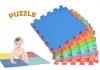 Alfombra Puzzle De Juego Cigioki Goma Eva Modular De Color 20 Piezas 30x30 Cm