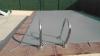 Cobertor De Invierno Para Piscina De 3 X 6 M Más 15 Cm Por Cada Lado Para Anclaje De Color Gris (exterior) / Gris (interior)